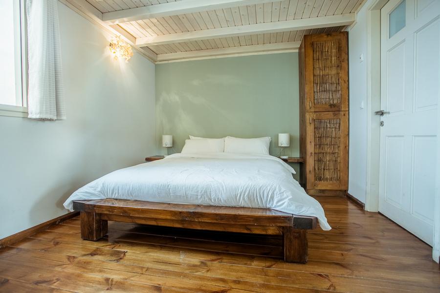 בקתת קלם - חדר שינה