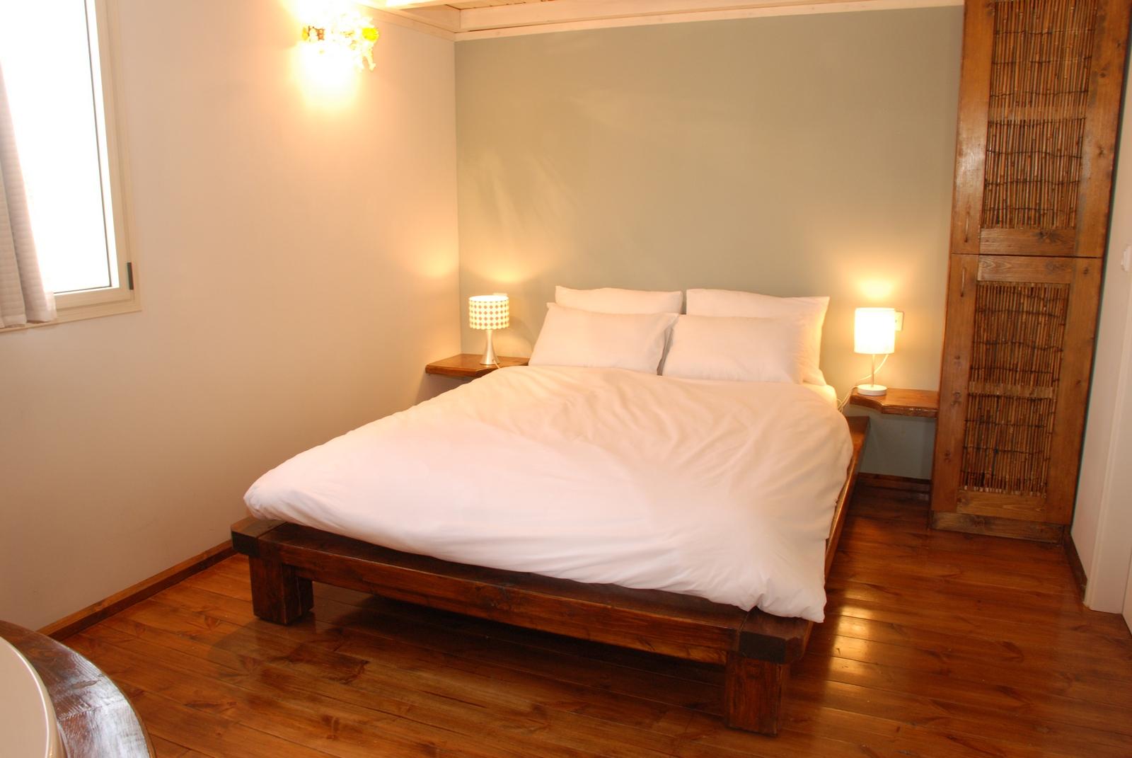 בקתות קלם - חדר שינה